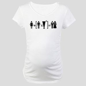 Beer Mariagge Maternity T-Shirt