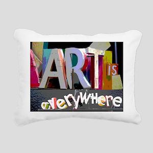 art-is-everywhere Rectangular Canvas Pillow