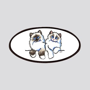 Ragdolls Pair Off-Leash Art™ Patches
