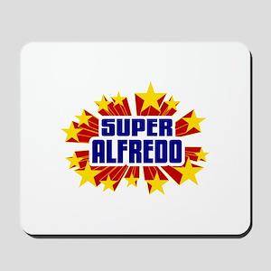 Alfredo the Super Hero Mousepad