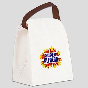 Alfredo the Super Hero Canvas Lunch Bag