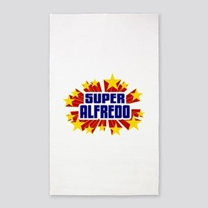 Alfredo the Super Hero 3'x5' Area Rug