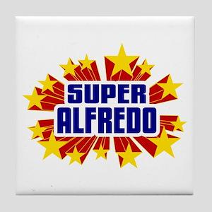 Alfredo the Super Hero Tile Coaster