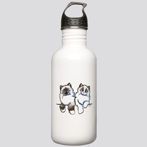 Ragdolls Pair Off-Leash Art™ Water Bottle