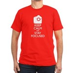 Men's Canon - Keep Calm Men's Fitted T-Shirt (dark