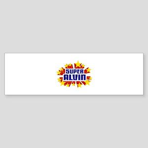 Alvin the Super Hero Bumper Sticker