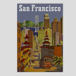 Vintage San Francisco Travel Postcards (Package of