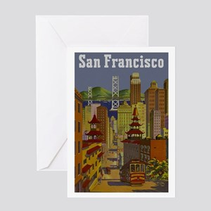 Vintage San Francisco Travel Greeting Card