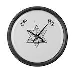 Z Symbol 9.9 Large Wall Clock