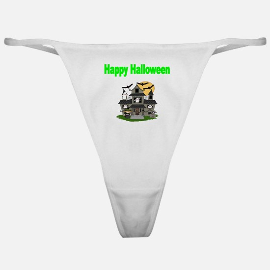 Happy Halloween 8 Classic Thong