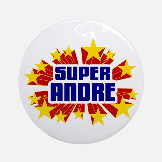 Andre the Super Hero Ornament (Round)
