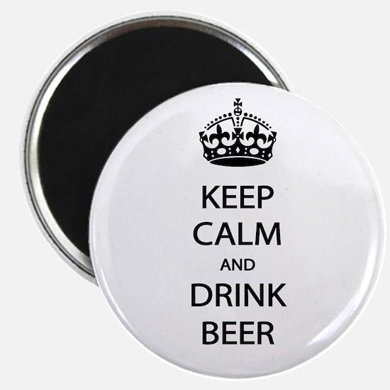 Keep Calm Drink Beer Magnet