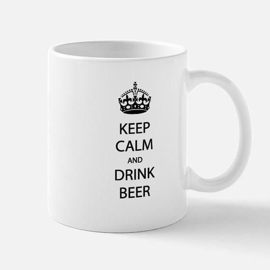 Keep Calm Drink Beer Mug