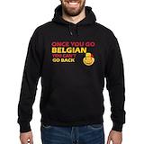 Belgium Dark Hoodies