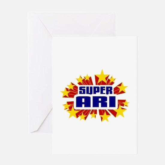 Ari the Super Hero Greeting Card