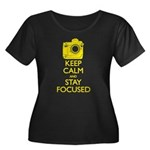 Women's Nikon - Keep Calm Women's Plus Size Scoop