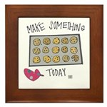 Make Something Today Framed Tile