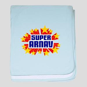 Arnav the Super Hero baby blanket