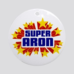 Aron the Super Hero Ornament (Round)