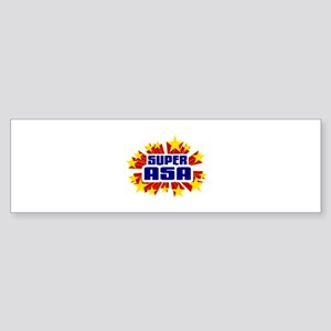 Asa the Super Hero Bumper Sticker