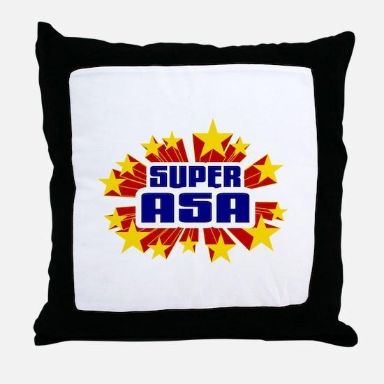Asa the Super Hero Throw Pillow
