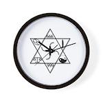 Z Symbol 9.9 Wall Clock