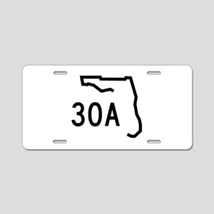 30A Florida Coast Aluminum License Plate