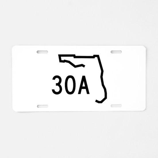30A Florida Coast Aluminum License Plate