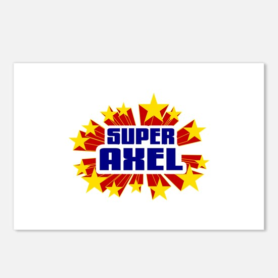 Axel the Super Hero Postcards (Package of 8)