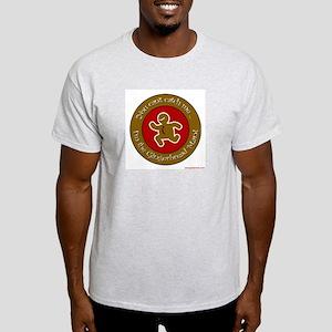 Gingerbread Man Ash Grey T-Shirt