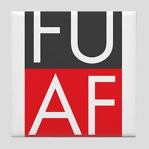 FU AF Tile Coaster