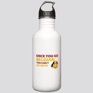 Once you go Belgian yo Stainless Water Bottle 1.0L
