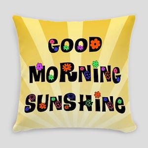 Good Morning Sunshine Everyday Pillow