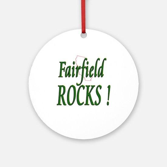 Fairfield Rocks ! Ornament (Round)