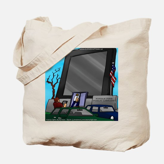 Kindle Public Library Tote Bag