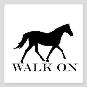 Walk on Tennessee Walker Hoodie Square Car Magnet