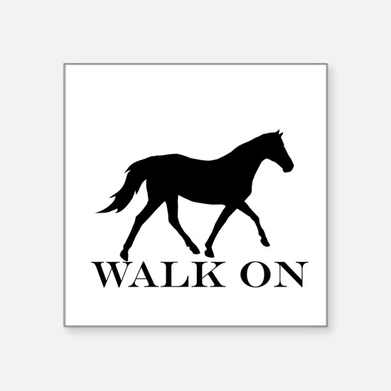 Walk on Tennessee Walker Hoodie Sticker