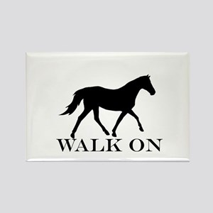 Walk on Tennessee Walker Hoodie Rectangle Magnet