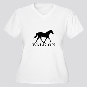 Walk on Tennessee Walker Hoodie Plus Size T-Shirt