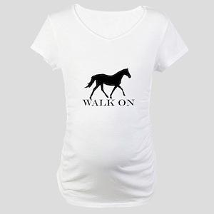 Walk on Tennessee Walker Hoodie Maternity T-Shirt