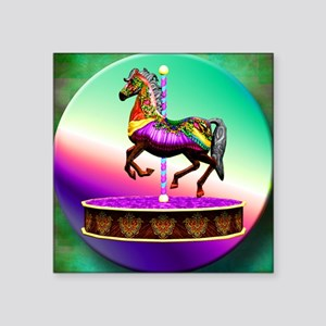 Carousel Horse Sticker