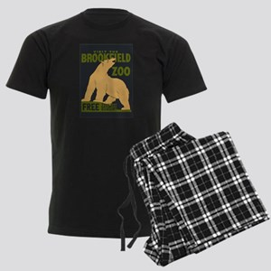 Polar Bear Zoo Men's Dark Pajamas