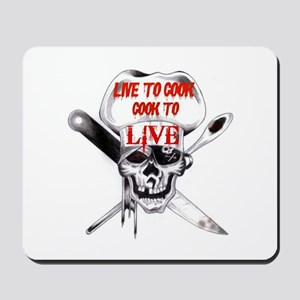 Cook to Live Mousepad