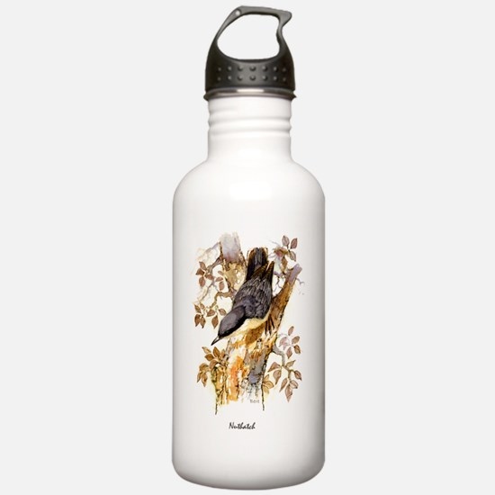 Nuthatch Peter Bere Design Water Bottle