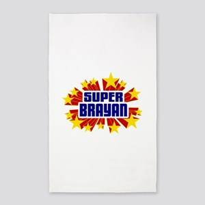 Brayan the Super Hero 3'x5' Area Rug