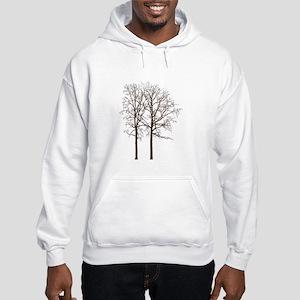 Brown Trees Hoodie