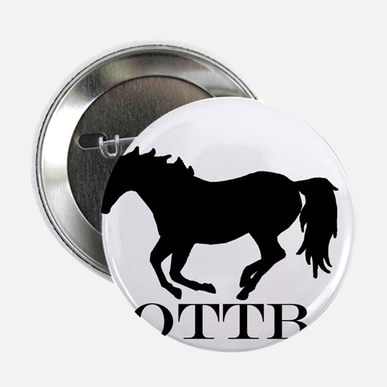 "Off Track Thoroughbred 2.25"" Button"