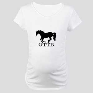 Off Track Thoroughbred Maternity T-Shirt