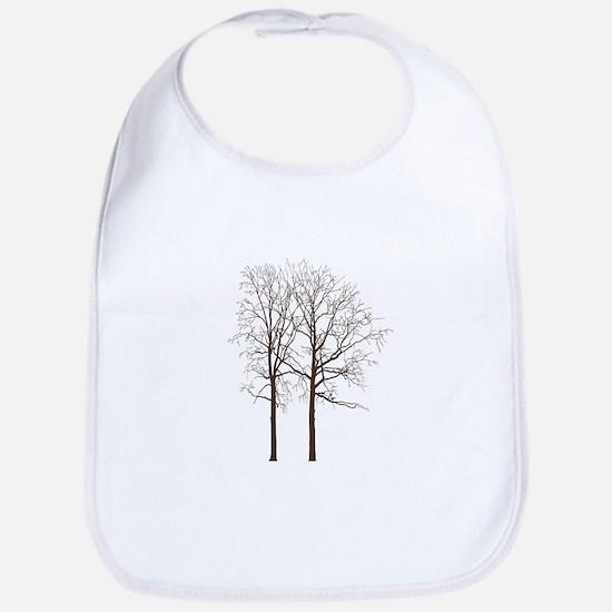 Brown Trees Bib