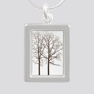 Brown Trees Necklaces